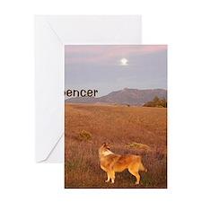 Spencer Calendar copy Greeting Card