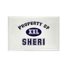 Property of sheri Rectangle Magnet