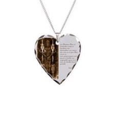 Isaiah 40-10-11 - Latin Necklace