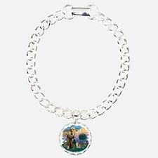 St Francis (ff) - Blue A Bracelet