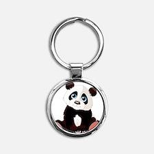 pando Round Keychain