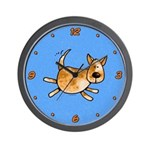 Red Heeler Wall Clock