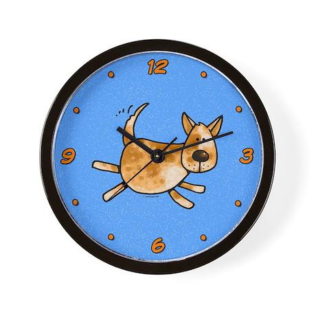 Red Heeler Wall Clock