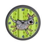 Blue Heeler Wall Clock