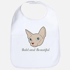 Baldy Cat Bib