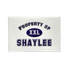 Property of shaylee Rectangle Magnet