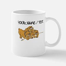 Bulldog Tug Of War Mugs