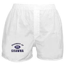 Property of shawna Boxer Shorts