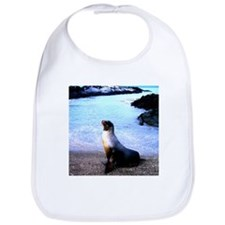 Sea lion calling for love Bib