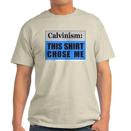Calvinism (front) Arminianism (back) Light T-Shirt