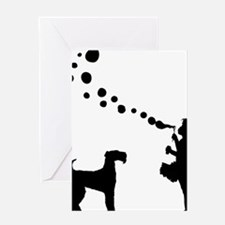 Airedale-Terrier28 Greeting Card