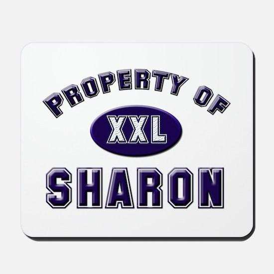 Property of sharon Mousepad