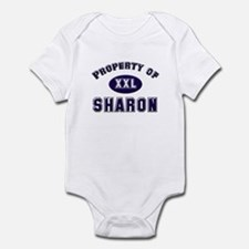 Property of sharon Infant Bodysuit