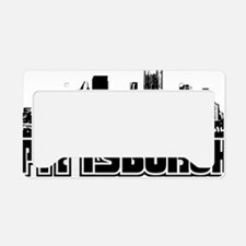 Pittsburgh Skyline License Plate Holder