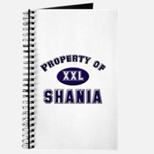 Property of shania Journal