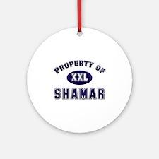 Property of shamar Ornament (Round)