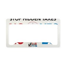 No25-Yes26 CP Yard-2 License Plate Holder
