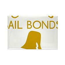 Chicos Bail Bonds Gold Rectangle Magnet