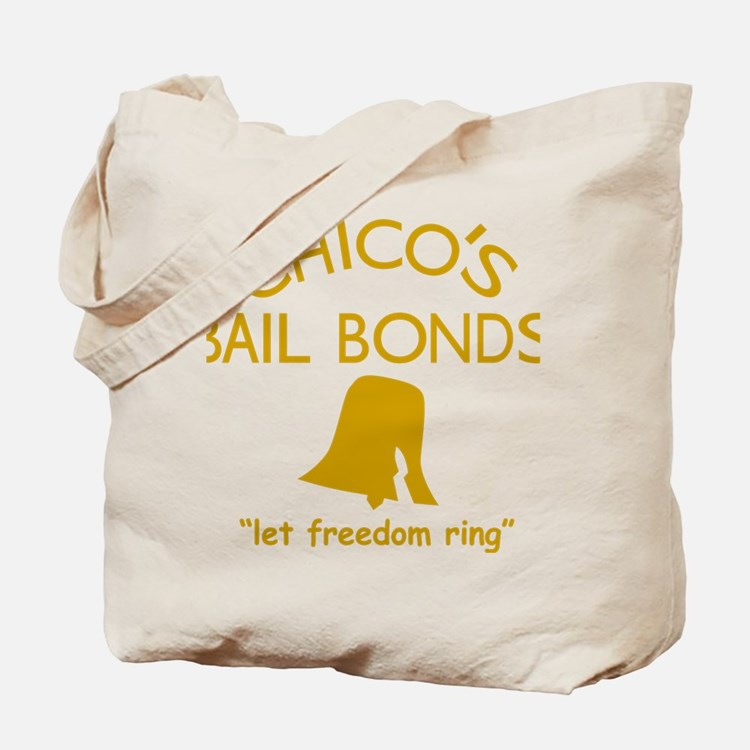 Chicos Bail Bonds Gold Tote Bag