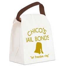 Chicos Bail Bonds Gold Canvas Lunch Bag