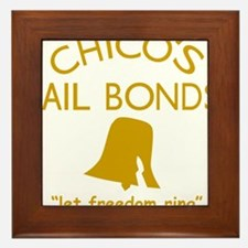 Chicos Bail Bonds Gold Framed Tile