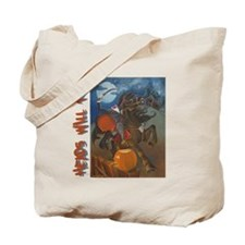 heads will roll Tote Bag
