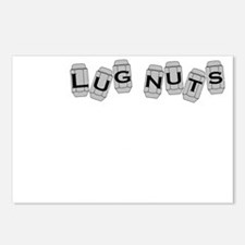Lugnuts WHITE Postcards (Package of 8)