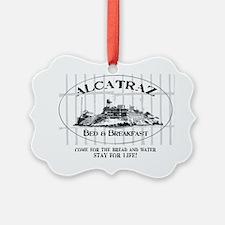 ALCATRAZ BB Picture Ornament