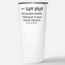 Lugnuts BLACK Travel Mug