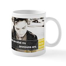 Ask My Pronouns Mugs