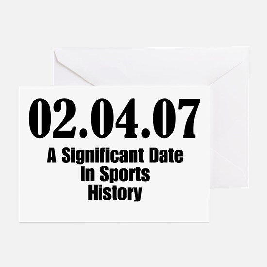 Sports History Greeting Cards (Pk of 10)
