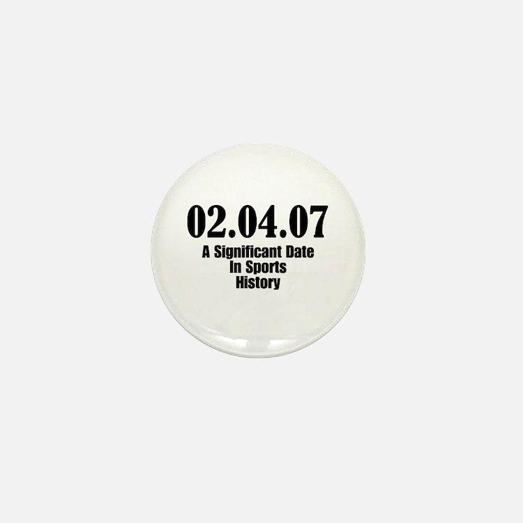 Sports History Mini Button