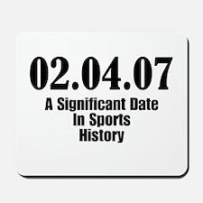 Sports History Mousepad