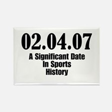 Sports History Rectangle Magnet