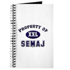 Property of semaj Journal