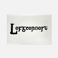 Lofgeornost Rectangle Magnet