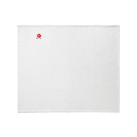 Alaskan-Klee-Kai25 Throw Blanket