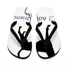 American-Foxhound13 Flip Flops