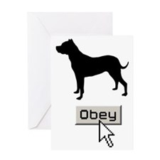 Dogo-Argentino15 Greeting Card