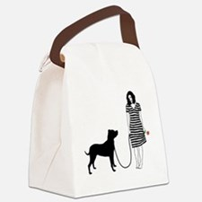 Dogo-Argentino11 Canvas Lunch Bag