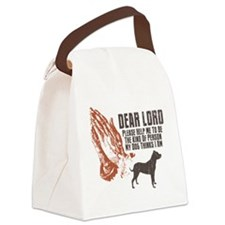 Dogo-Argentino19 Canvas Lunch Bag