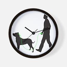 Dogo-Argentino34 Wall Clock