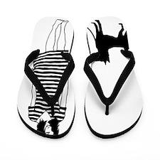 Basenji11 Flip Flops