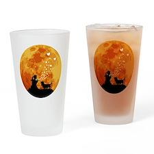 Basset-Hound22 Drinking Glass