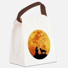 Australian-Kelpie22 Canvas Lunch Bag