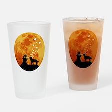 Australian-Kelpie22 Drinking Glass
