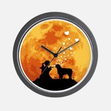 Australian-Shepherd22 Wall Clock