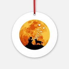 Australian-Cattle-Dog22 Round Ornament