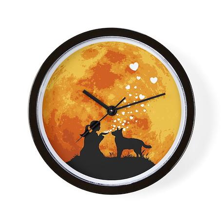 Australian-Cattle-Dog22 Wall Clock