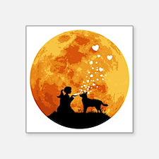 "Australian-Cattle-Dog22 Square Sticker 3"" x 3"""